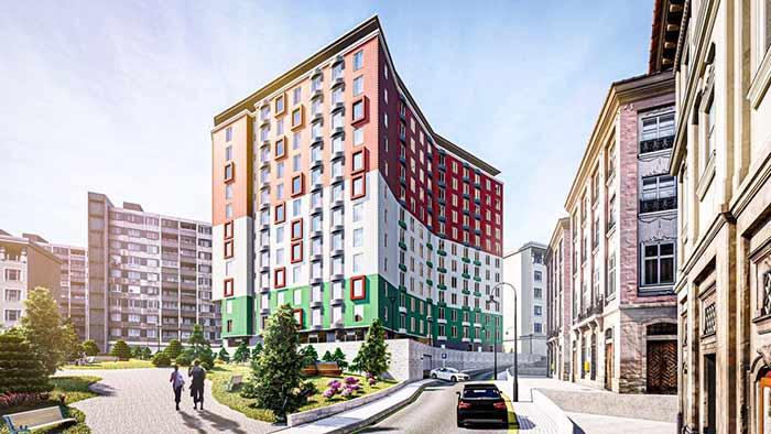 خرید خانه در استانبول پروژه  FLOORIST