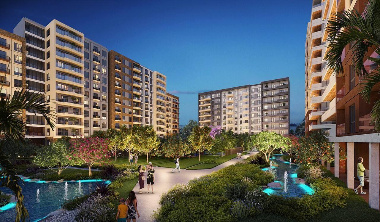 خرید آپارتمان در انتالیا پروژه Suryapi