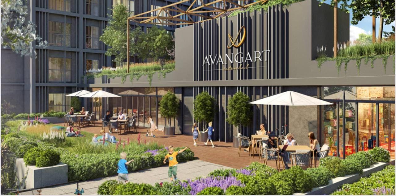 خرید خانه در پروژه Avangart